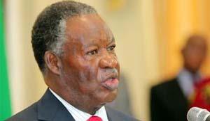 .President Micheal Chilufya Sata