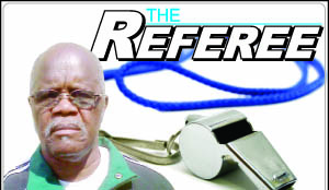 The Referee logo
