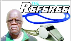 The Referee logo