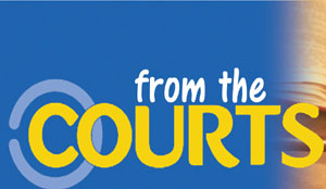 from the courts