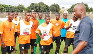 Under 17 soccer team