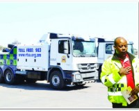 •THE Road Transport and Safety Agency (RTSA) will now start towing vehicles which break down on the roads, after acquiring modern tow trucks.  Picture by CLEVER ZULU