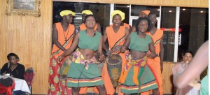 • A Ndola Cultural Group performing during the cultural night recently-Picture By GETHSEMANE MWIZABI