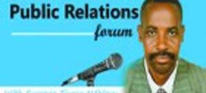 Public relations forum logo