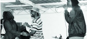 . DANNY sings for a couple on Good Friday at Mumana Pleasure Resort in Lusaka. Picture by CHUSA SICHONE.