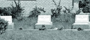 •THE neglected Gabon Disaster burial site in Lusaka.