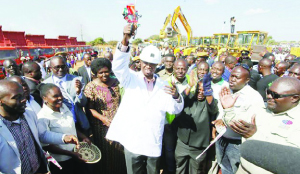 •President Edgar Lungu recently launched the commencement of rehabilitation works for the Solwezi-Chingola Road, which he described as a long-standing project.