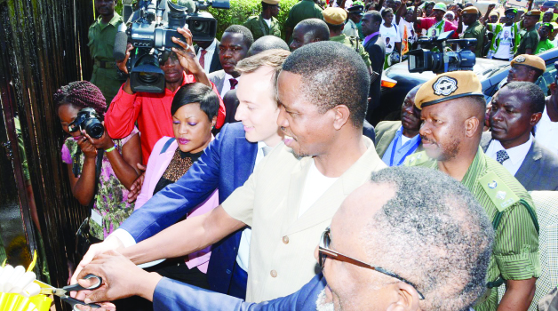 Times of zambia yalelo fish farm launched for Taylor fish farm