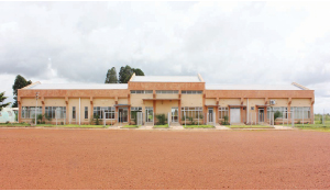 •The new terminal building for local and international passengers at Kasama Airport.