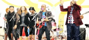 •Rock of Escape Band performs at  UNZA Chapel recently. Picture by CHRISTINE MWAABA