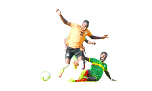 • Ethiopia defender Abedrehman Sorura slides in to nick the ball off Zambia striker Justin Shonga during an international friendly match at the refurbished Woodlands stadium in Lusaka yesterday. The game ended 0-0 as both prepare for crucial CHAN qualifiers this weekend. Picture by Godfrey Dube.