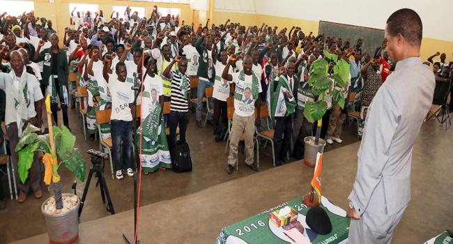 .President Lungu in Chama