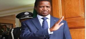 .President Lungu
